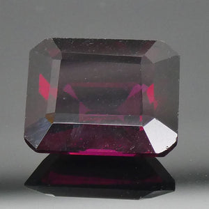 4.88ct Emerald Cut Rhodolite Garnet - Skyjems Wholesale Gemstones