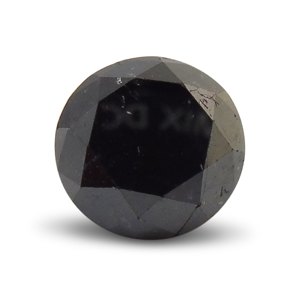 Black Diamond 2.04 cts  Round Black  $110