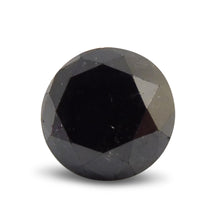 2.04 ct Round Black Diamond