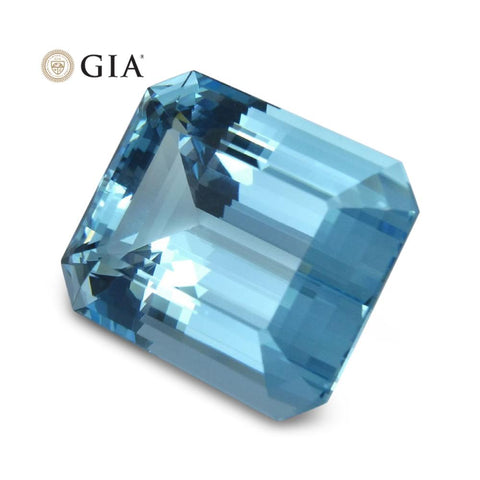 36.48 ct GIA Certified Aquamarine