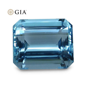 36.48 ct GIA Certified Aquamarine - Skyjems Wholesale Gemstones