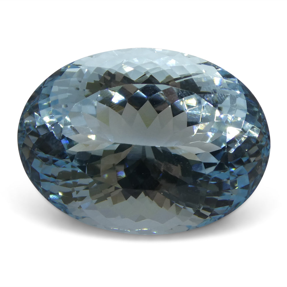25.88 ct Oval Aquamarine GIA Certified