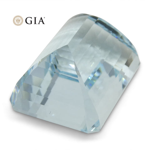 26.75 ct Emerald Cut Aquamarine GIA Certified
