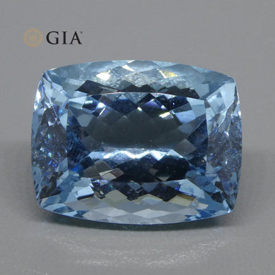 18ct Cushion Aquamarine GIA Certified - Skyjems Wholesale Gemstones