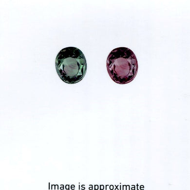 0.98 ct Alexandrite Oval GIA Certified Green to Purple