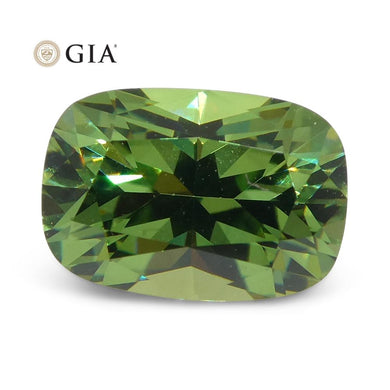 1.33ct Cushion Demantoid Garnet GIA Certified - Skyjems Wholesale Gemstones
