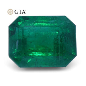 2.13 ct Emerald Cut Emerald GIA Certified - Skyjems Wholesale Gemstones