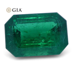 1.56 ct Emerald Cut Emerald GIA Certified - Skyjems Wholesale Gemstones