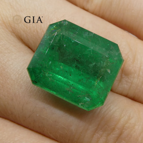 24.67 ct Octagonal/Emerald Cut Emerald GIA Certified