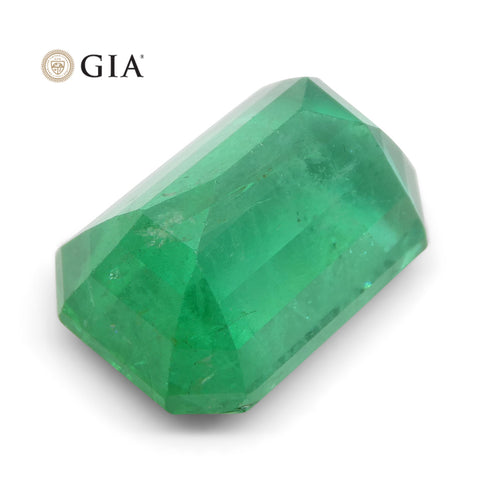 10.26 ct Octagonal/Emerald Cut Emerald GIA Certified