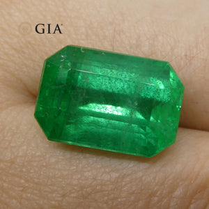 10.26 ct Octagonal/Emerald Cut Emerald GIA Certified - Skyjems Wholesale Gemstones