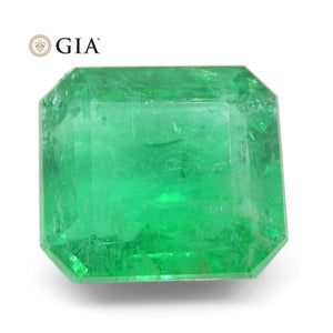 Emerald 12.26 cts 14.52 x 13.02 x 8.76 mm Octagonal Green  $9810