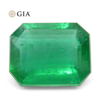 Emerald 8.47 cts 14.71 x 11.66 x 6.79 mm Octagonal Green  $27110