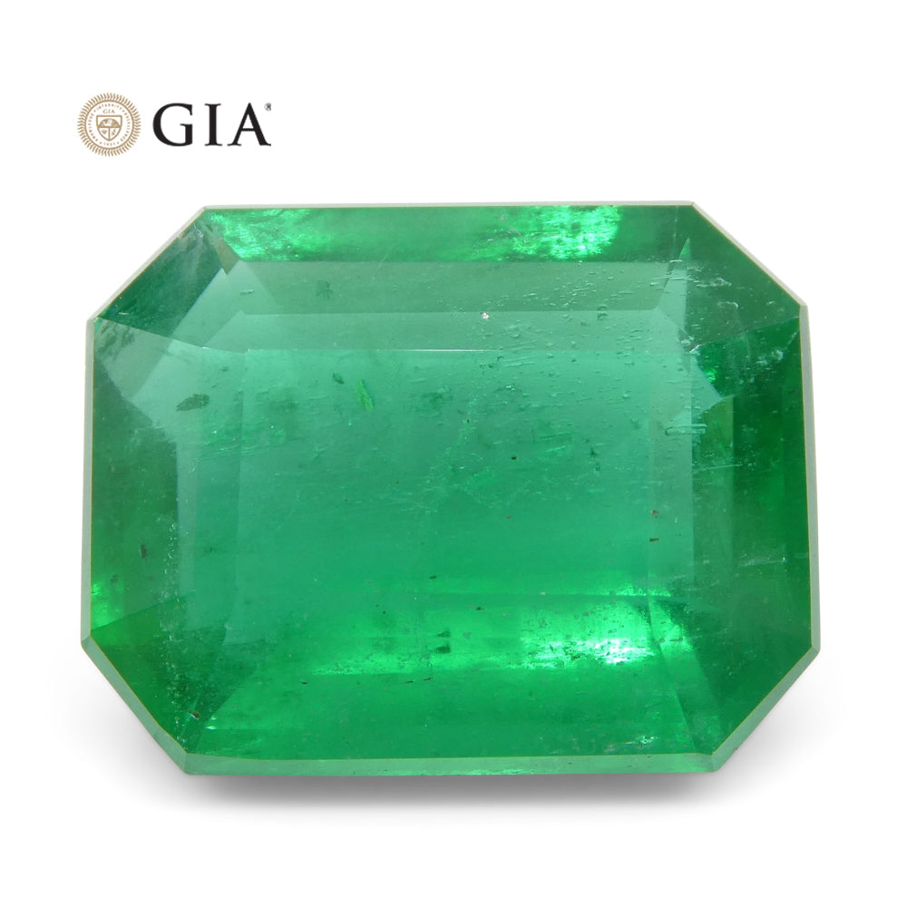 8.47 ct Octagonal/Emerald Cut Emerald GIA Certified