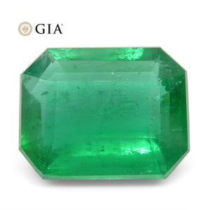 8.47 ct Octagonal/Emerald Cut Emerald GIA Certified - Skyjems Wholesale Gemstones