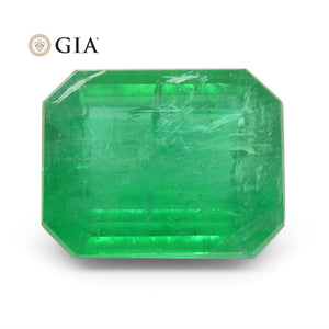Emerald 7.63 cts 14.11 x 11.13 x 6.50 mm Octagonal Green  $6110