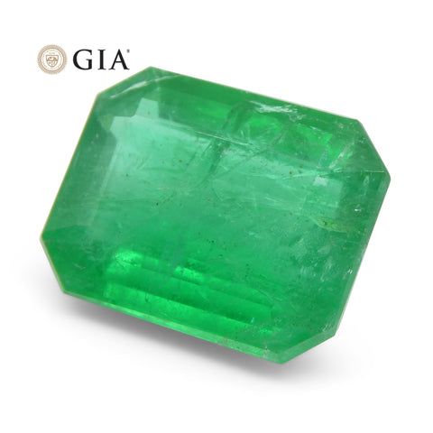 7.63 ct Octagonal/Emerald Cut Emerald GIA Certified