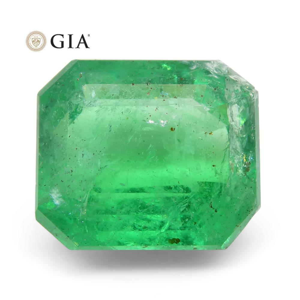 6.52 ct Octagonal/Emerald Cut Emerald GIA Certified