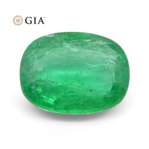 3.69 ct Cushion Emerald GIA Certified - Skyjems Wholesale Gemstones