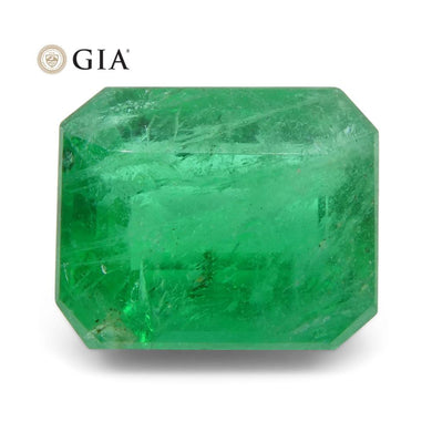 Emerald 3.27 cts 9.42 x 7.81 x 5.46 mm Octagonal Green  $2100