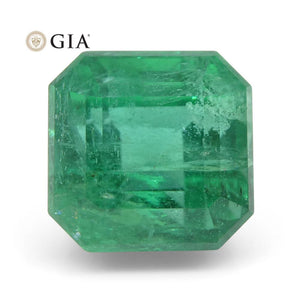 3.8 ct Octagonal/Emerald Cut Emerald GIA Certified - Skyjems Wholesale Gemstones