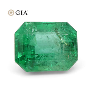 3.47 ct Octagonal/Emerald Cut Emerald GIA Certified - Skyjems Wholesale Gemstones