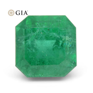 4.97 ct Octagonal/Emerald Cut Emerald GIA Certified - Skyjems Wholesale Gemstones