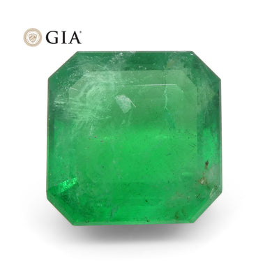 Emerald 2.55 cts 8.37 x 8.33 x 4.57 mm Octagonal Green  $2680