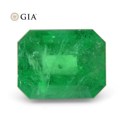 2.46 ct Octagonal/Emerald Cut Emerald GIA Certified - Skyjems Wholesale Gemstones