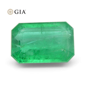 2.69 ct Octagonal/Emerald Cut Emerald GIA Certified - Skyjems Wholesale Gemstones