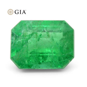 Emerald 2.26 cts 9.01 x 7.00 x 5.06 mm Octagonal Green  $1810