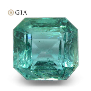 3.27ct Octagonal/Emerald Cut Emerald GIA Certified Zambian - Skyjems Wholesale Gemstones