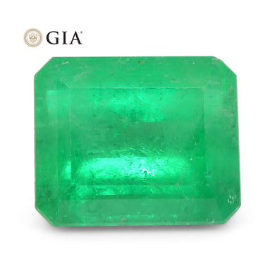 Emerald 6.16 cts 12.02 x 9.96 x 7.28 mm Octagonal Green  $28500