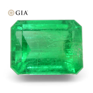 Emerald 4.43 cts 10.55 x 8.12 x 6.50 mm Octagonal Green  $13400
