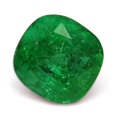 GIA Certified Emerald 2.54 8.34 x 8.03 x 6.51 Cushion Green 2191229518 2790