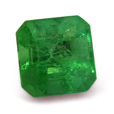 1.12ct GIA Certified Colombian Square Cut Emerald - Skyjems Gemstones Gems