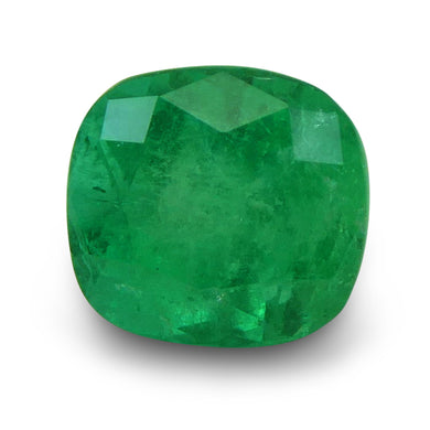 GIA Certified Emerald 2.78 8.36 x 7.81 x 7.20 Cushion Green 5191480024 1500