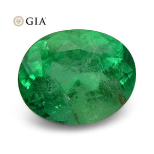 1.84 ct GIA Certified Colombian Emerald