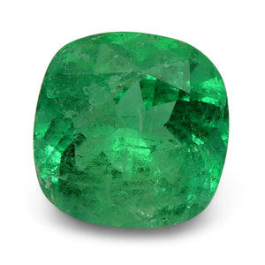 GIA Certified Emerald 1.77 7.83 x 7.74 x 4.97 Cushion Green 5191480071 1240