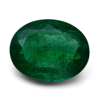 GIA Certified Emerald 13.52 ct Oval Green 2195806606 $4800