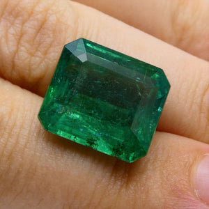 13.77 ct GIA Certified Emerald