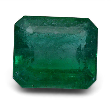 GIA Certified Emerald 12.39 ct Octagonal Green 6197789875 $3500