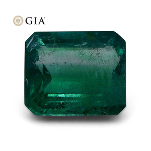 11.85 ct GIA Certified Emerald Zambian - Skyjems Wholesale Gemstones