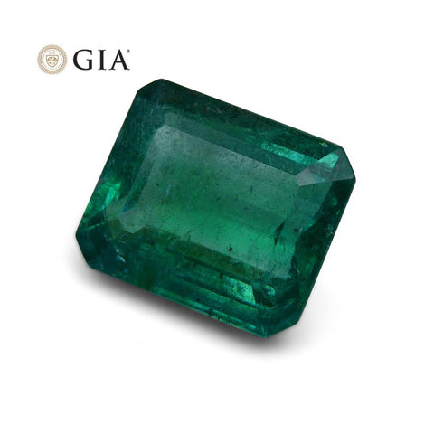 11.85 ct GIA Certified Emerald Zambian