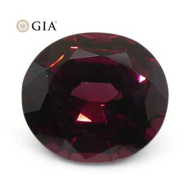 Pyrope-Almandine Garnet 6.23 cts 12.29 x 11.01 x 6.26 mm Oval Red  $5000