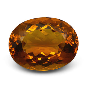 GIA Certified Heliodor 22.15 21,23 x 16.16 x 10.49 Oval Orange 5192478406 1400