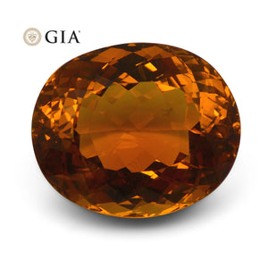21.15 ct GIA Certified Heliodor / Golden Beryl - Skyjems Wholesale Gemstones