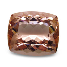 GIA Certified Morganite 41.5 23.58 x 20.28 x 13.05 Cushion Orangy Pink 5192478321 6200