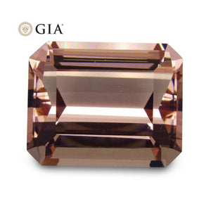 37.05 ct GIA Certified Morganite - Skyjems Wholesale Gemstones