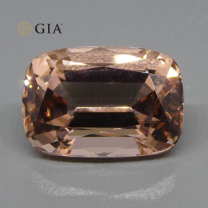 9.70ct Cushion Morganite GIA Certified - Skyjems Wholesale Gemstones